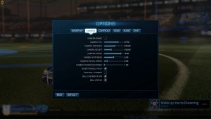 Rocket League Camera Settings