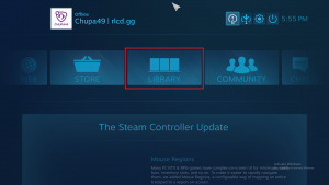 Steam Big Picture Mode