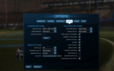 The Rocket League Pro Camera Settings, Controller, and FPS Guide for PC Players