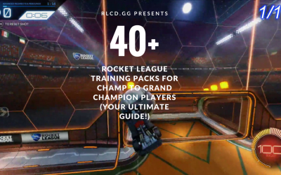 The Ultimate Rocket League Trainer Pack Guide For Champ To Grand Champion Players