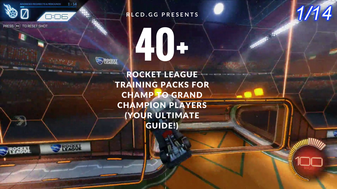 The Best Rocket League Trainer Packs (For Champ to Grand